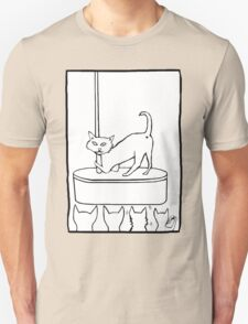 Cat Stripper Fun T-Shirt