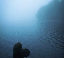 Misty Dawn at Loch Awe I by maekstar
