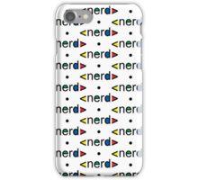 Nerd Alert iphone 3G  4G  4SG iPhone Case/Skin