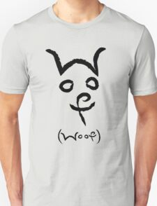 """Woof"" Dog T-Shirt"
