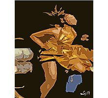 OCHUN DANCING Photographic Print