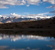Lake near Dankar, Indian Himalayas by espanek