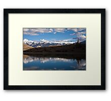 Lake near Dankar, Indian Himalayas Framed Print
