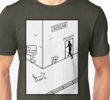 Rehab Cat Unisex T-Shirt