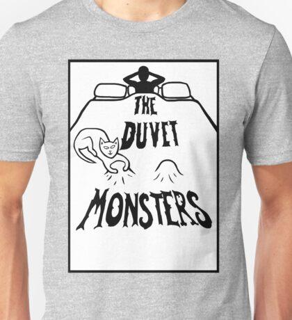 The Duvet Monsters Cat Unisex T-Shirt