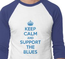 Keep Calm and Support NSW  Men's Baseball ¾ T-Shirt