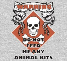 Do Not Feed Me Any Animal Bits Kids Clothes