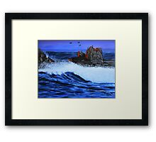 Early night Framed Print