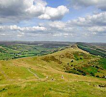 Walking The Great Ridge  by Rod Johnson