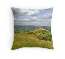Walking The Great Ridge  Throw Pillow