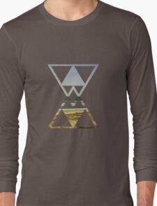 Triangle Horizon Long Sleeve T-Shirt