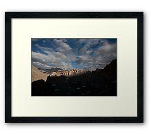 Dankar, Indian Himalayas Framed Print