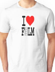 I love film Unisex T-Shirt