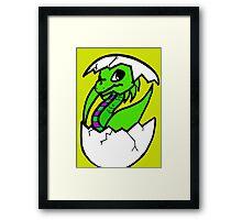 Baby Dragon © Framed Print
