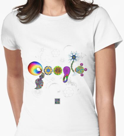 """""""The STEM of Google 3""""© Womens Fitted T-Shirt"""