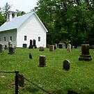 Cemetery at Cades Cove Primitive Baptist Church  by SummerJade