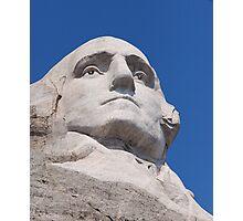 George Washington, Mount Rushmore National Memorial .3 Photographic Print
