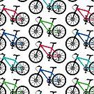 Mountain Bike multi  3G  4G  4s iPhone case by Andi Bird