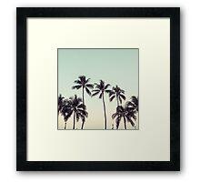 palmtreeeeeee Framed Print