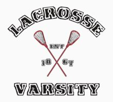 Lacrosse Varsity by SportsT-Shirts