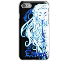 Dark Swan Ink iPhone Case/Skin