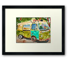 Peace, Love...and...Sun Tea Framed Print