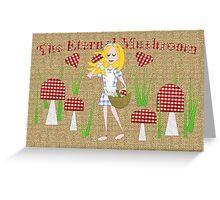 The Eternal Mushroom Greeting Card