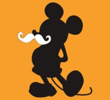 Mickey Mouse MUSTACHE  by kinxx