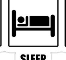 Eat Sleep Coitus Sticker