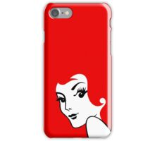 Miss Redhead [iPhone / iPad / iPod case / Tshirt / Print] iPhone Case/Skin
