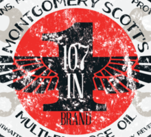 Montgomery Scott's 107-in-1 Brand Multipurpose Oil Sticker