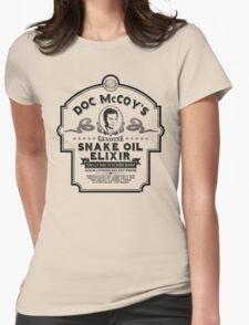 Doc McCoy's Genuine Snake Oil Elixir Womens Fitted T-Shirt
