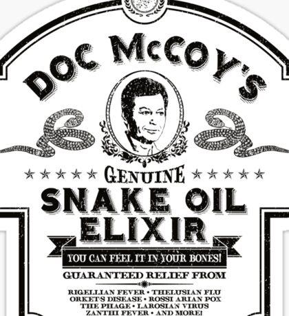Doc McCoy's Genuine Snake Oil Elixir Sticker