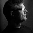 Self Portrait Profile by Peter O'Hara