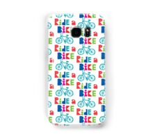 Ride a Bike Sketchy white 3G  4G  4s iPhone case   Samsung Galaxy Case/Skin