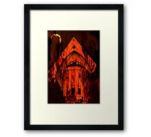 To grandma's house we go... © Framed Print