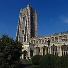 Lavenham Church, Suffolk by wiggyofipswich