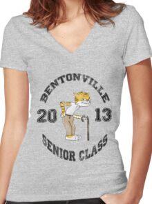 Senior Class Women's Fitted V-Neck T-Shirt