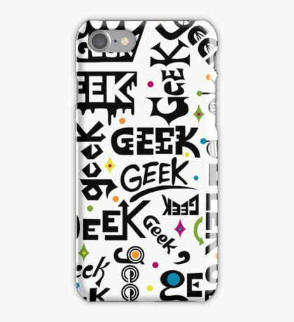 Geek Type 3G  4G  4s iPhone case iPhone Case/Skin