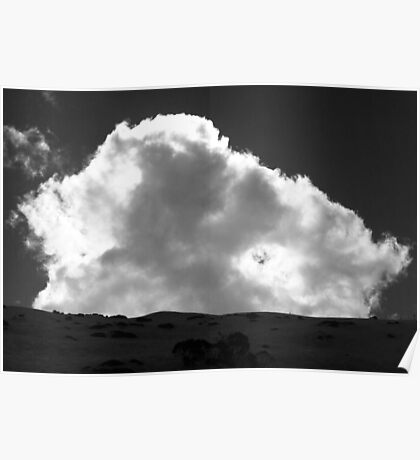 Looming cloud Poster