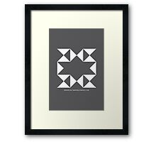Design 204 Framed Print
