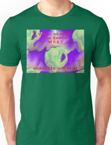 HEAVEN and EARTH MEET Unisex T-Shirt