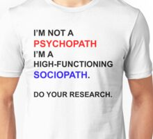 Do Your Research. Unisex T-Shirt