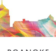Roanoke, Virginia Skyline WB1 Sticker