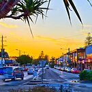 The Little Hippie Town That Was - Byron Bay  by Cheryl Styles