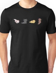 Axolotl Parade Unisex T-Shirt