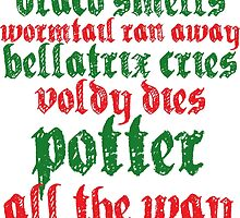 A very Potter christmas carol by toomanyfandomss