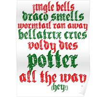 A very Potter christmas carol Poster