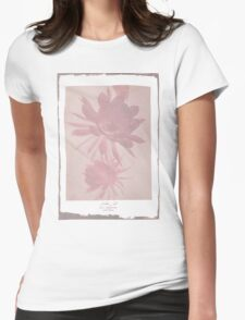 Negative Bloom Womens Fitted T-Shirt
