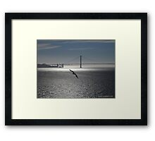 Tranquil Golden Gate Framed Print